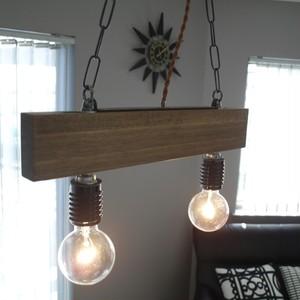 ペンダントライト ランプ 照明 Agrell(アグレル) アンティーク 天然木 レトロ LED対応