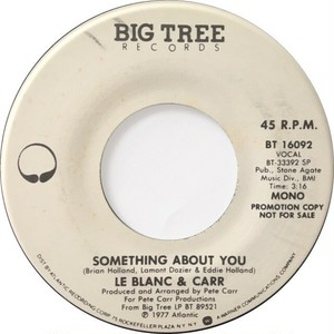 LeBlanc & Carr – Something About You
