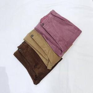 コーデュロイ ワイドベイカーパンツ【corduroy wide pants 】