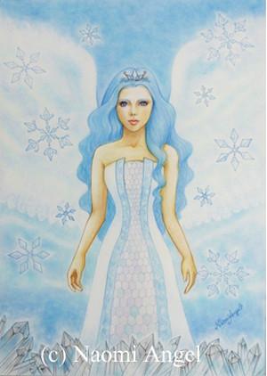 原画 Crystal Angel - クリスタルの天使 -