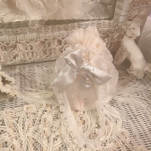 "ppp ""Ribbons and Romance"" feather bag"