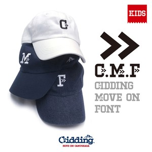 【★】Gidding13™ : G.M.F AtoZ 6Panel CAP【Kids】/ キッズキャップ