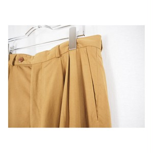 Viscose Mix Tuck Trousers