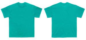カラフルシャツ(緑色)