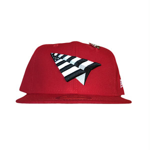 Paper Planes Crimson Crown Fitted / Red