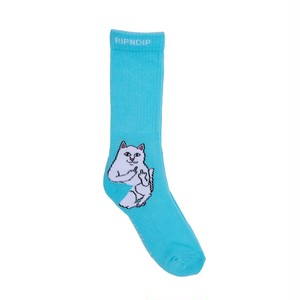 RIPNDIP - Lord Nermal Socks (Baby Blue)