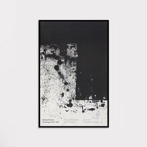 【額装済】Richard Serra Drawings 2015–2017 Poster