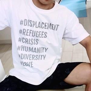 チャリTee メンズ Refugees