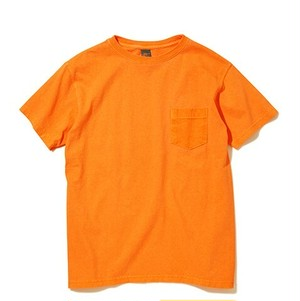 Good On / グッドオン | S/S CREW NECK POCKET T-SHIRTS _ P-ORANGE