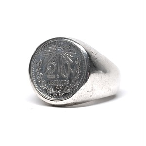 Vintage Mexican 1930's 20 Centavos Ring