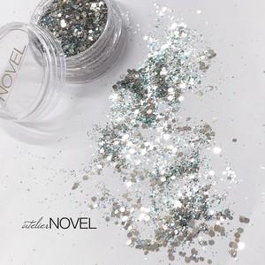 Aqua pacific glitter
