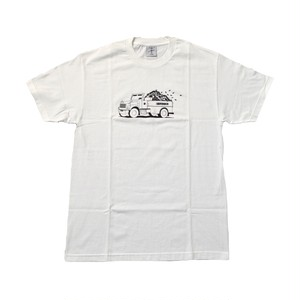 ALLTIMERS / TOP DOWN TEE -WHITE-