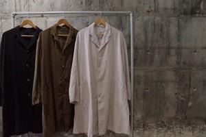 Military linen coat
