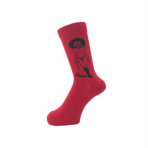 WHIMSY - 32/1 MANDI SOCKS (Blood)