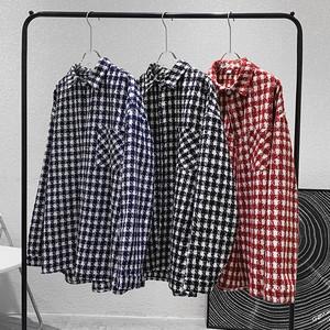 ブロックチェックシャツ BL7607
