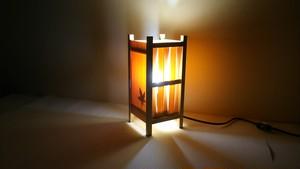 【いやしとやすらぎの空間】を演出する 青森ヒバ 木製 和風 ランプシェード   No.   002