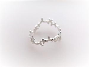 ~葉を纏う~foglia silver ring
