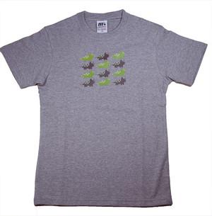 恐竜プリント子供用Tシャツ(トリケラトプス)KT-TR