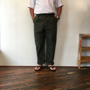 70's French Army Air Force Work Pants / Deadstock