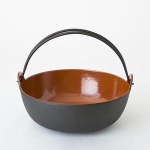 五進 / 田舎鍋 / 鉄 / 27cm / INAKA