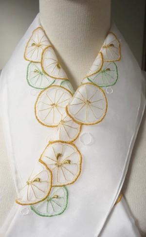 半衿・レモンとライム・オーガンジー