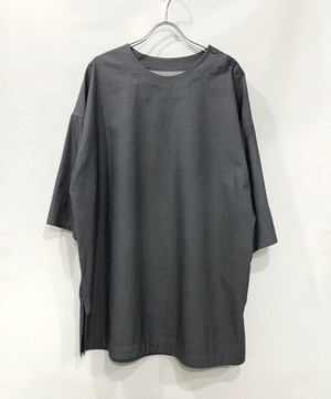 YANTOR 120双糸 Pullover shirts INDIGO