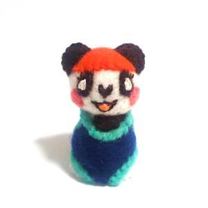 パンダちゃん(紺色の水着)