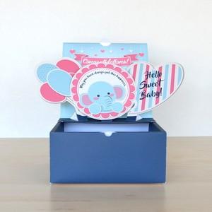 【S】出産祝い ポップアップボックス SWEET