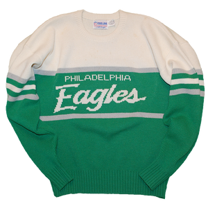 """Philadelphia Eagles"" Vintage Knit Used"