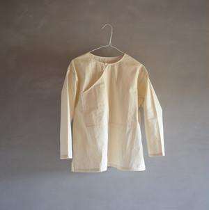 ポケットシャツ(生成り)