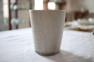 豊田雅代|フリーカップ (フジ色)