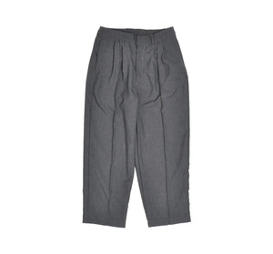 "kelen PIN-TUCK WIDE TROUSERS ""Affleck"""