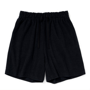 "Just Right ""Double-Faced Pile Shorts"" Navy"