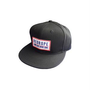 L.L.R.L. SNAPBACK CAP black/red