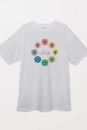 戦国ダンシ 九戸政実Tシャツ(ホワイト)