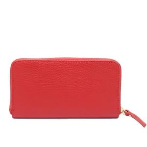 イタリア製 本革 長財布 財布 オリンダ レッド