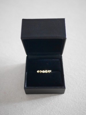 THE UNION / STUDS RING   ( GOLD )