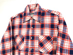 70s-80s【Murphys Mart】Check Print Flannel shirts