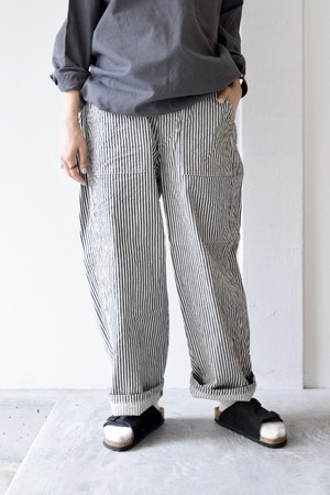 """RESTOCK""【ORDINARY FITS】 JAMES PANTS STRIPE/OF-P041"