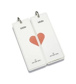 見守りタグ  biblle(ビブル)× JAM HOME MADE  -HEART-