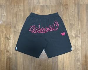 Watch&C BK shorts(PINK)