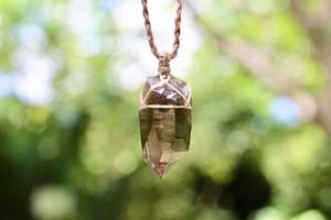ヒマラヤ水晶ペンダント(ガウリシャンカール産)