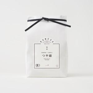 【1kg】有機米つや姫 白米