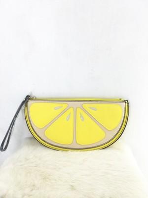 レモンクラッチバッグ