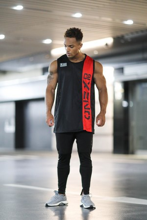 XENO BULKY JERSEY GEN2 BLACK RED