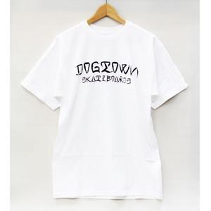 【ドッグタウン】ESEスクリプトTシャツ ホワイト