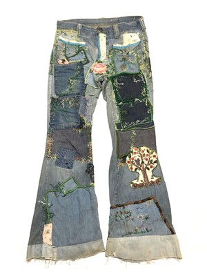 70'S HANDSTITCHED JEANS