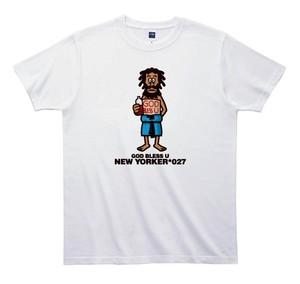 《山本周司Tシャツ》TY027/ GOD BLESS U