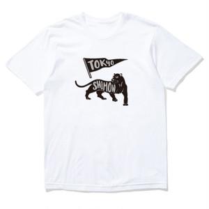 高山師門 × MOBS jaguar tee white