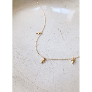 K18cross+++necklace